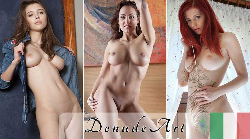 Simple beautiful nude women