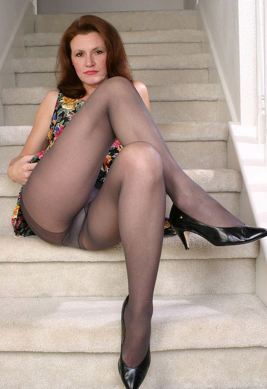 Nude mature wives legs up