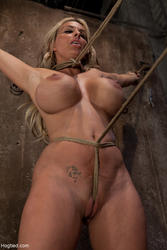 Bondage holly halston tits