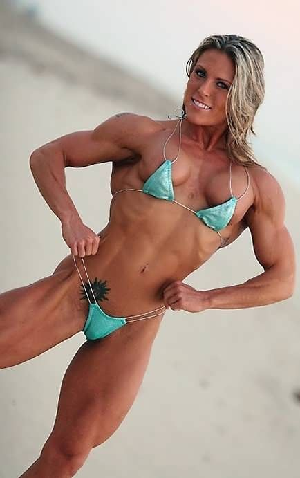 women muscle Hot naked