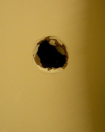 Glory hole wall
