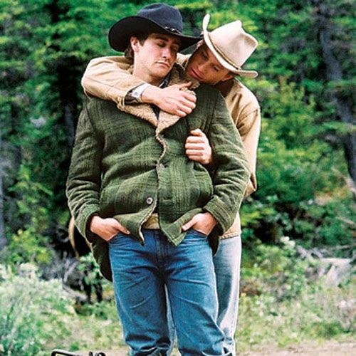 Jake gyllenhaal naked brokeback mountain