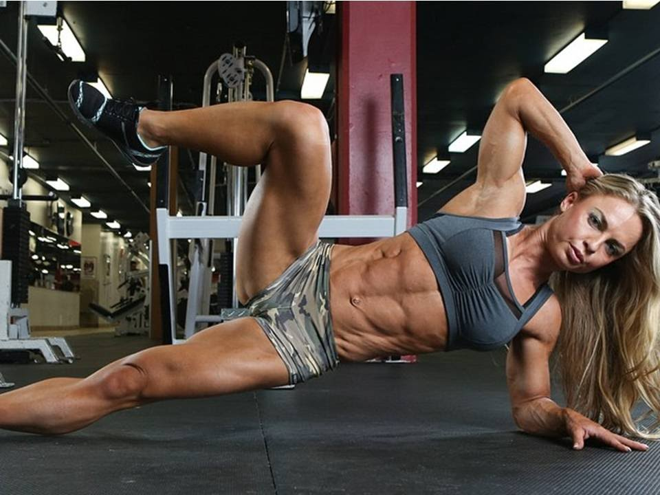 Super sexy girls with abs