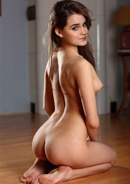 watson porn Emma ass