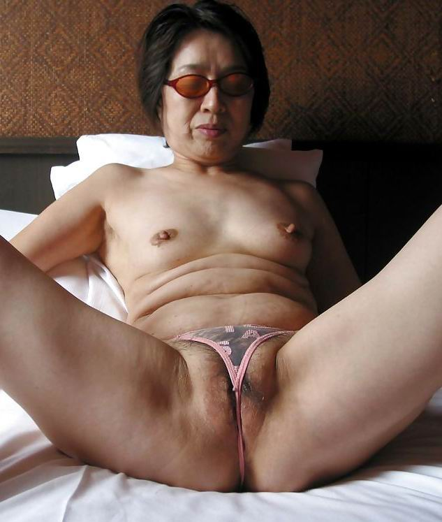 grannies asian Very naked old