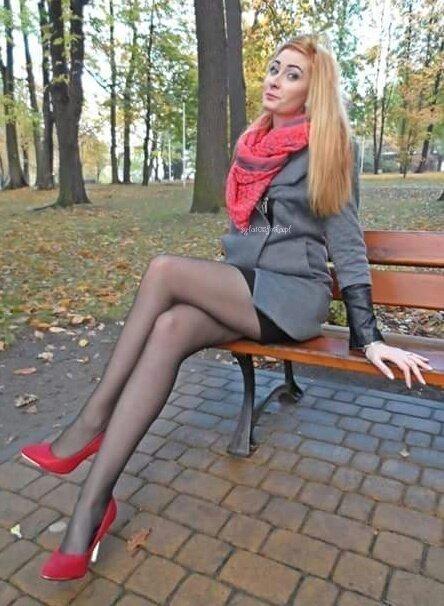 Blonde european teen pantyhose