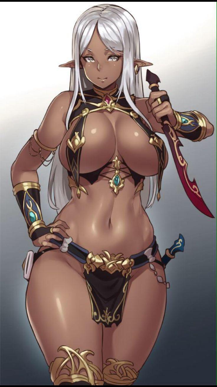 Fantasy warrior girl hentai