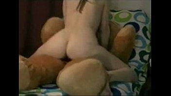 Hot girl teddy bear cock
