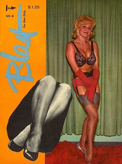 Vintage stocking magazines