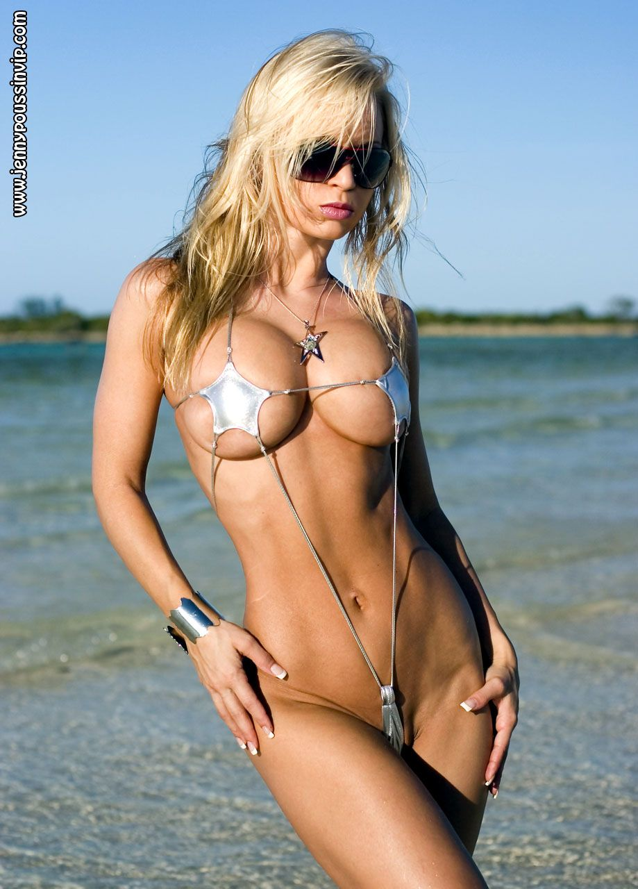 Ugly girl sling bikini