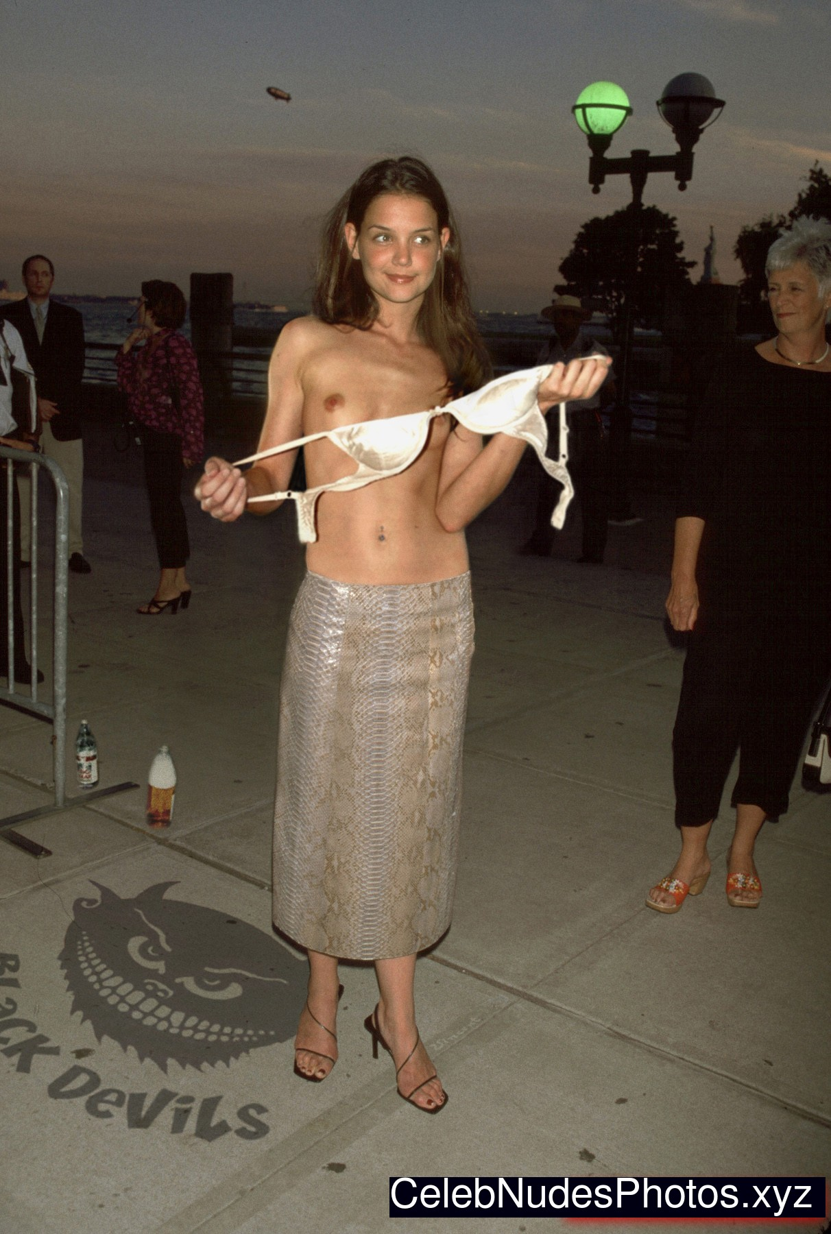 Nude katie holmes topless