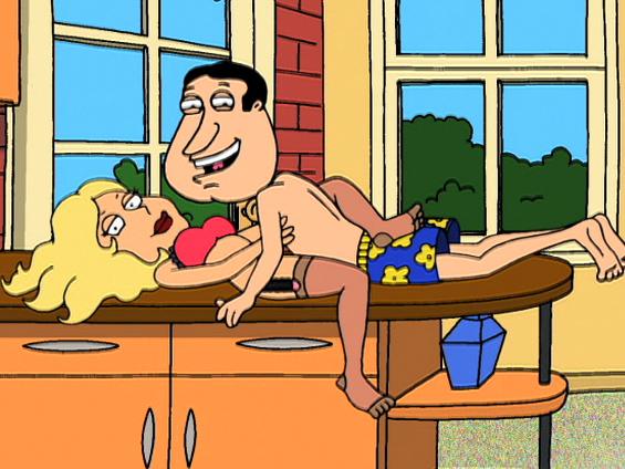 Cartoon family guy having sex