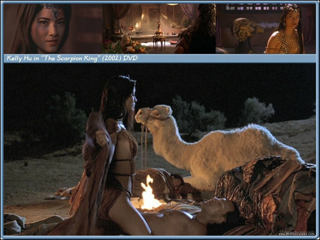 Kelly hu scorpion king pussy