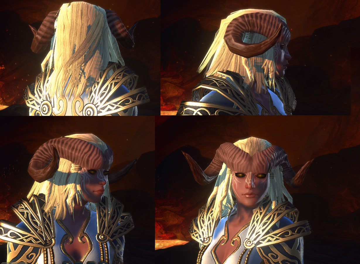 Neverwinter tiefling female