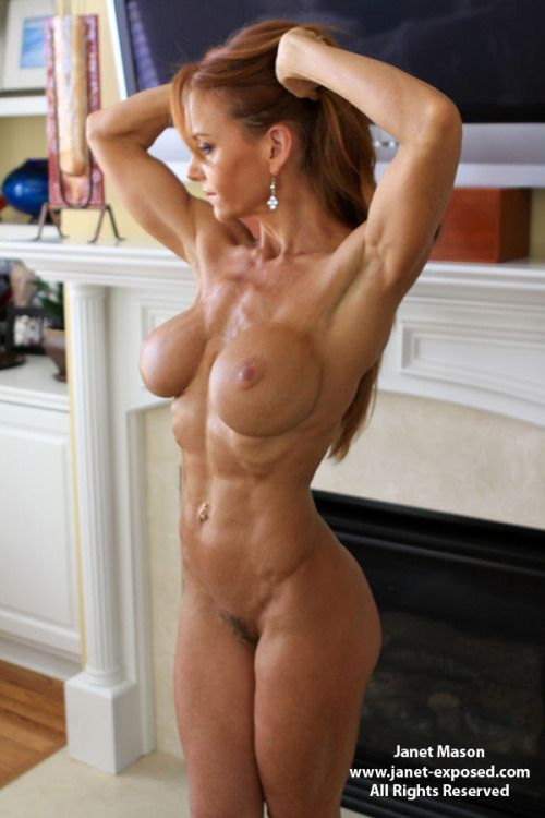 women Muscle nude fitness