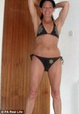 Mature amateur women posing