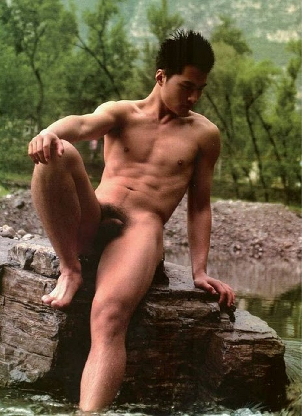 Nude japanese men naked male