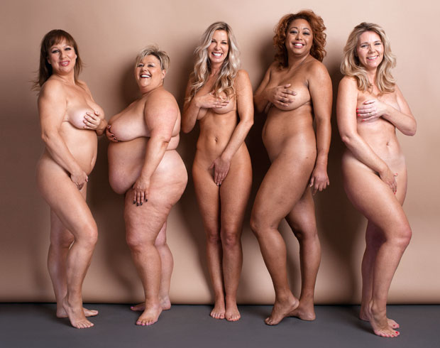 Tall nude women groups