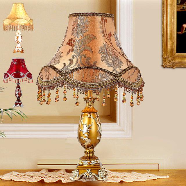European style table lamp