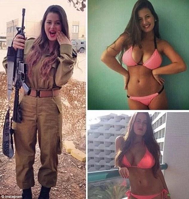Beautiful israeli army girls