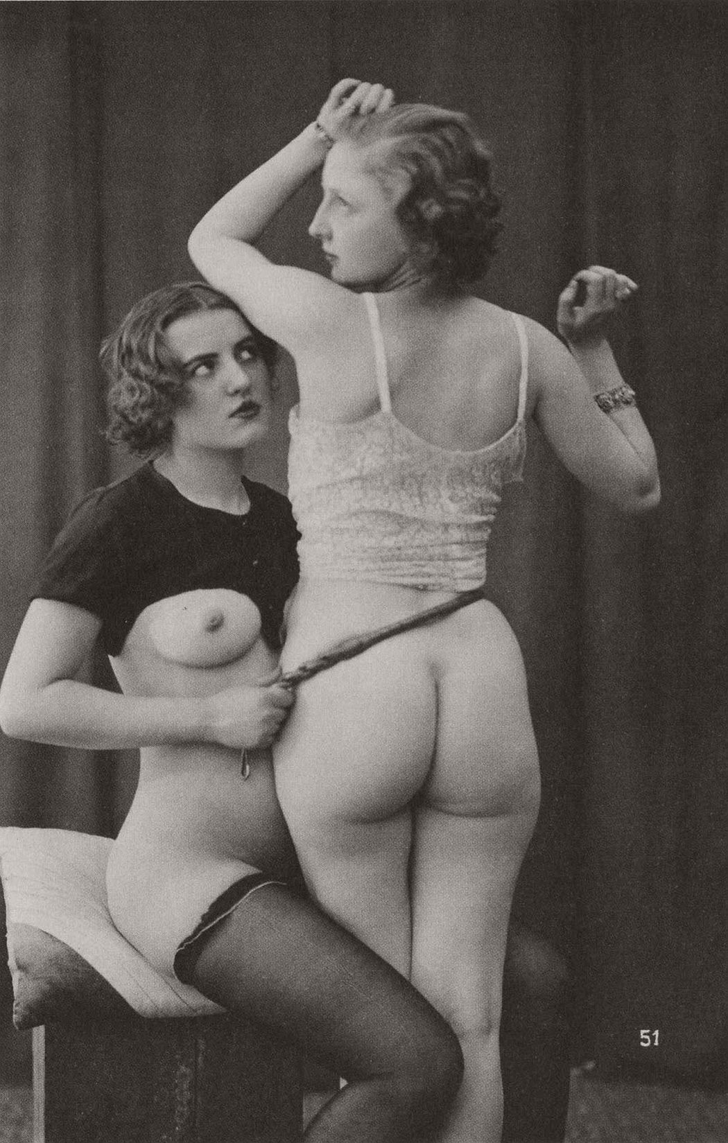 Vintage nude women erotica