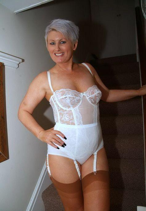 Milfs wearing girdles