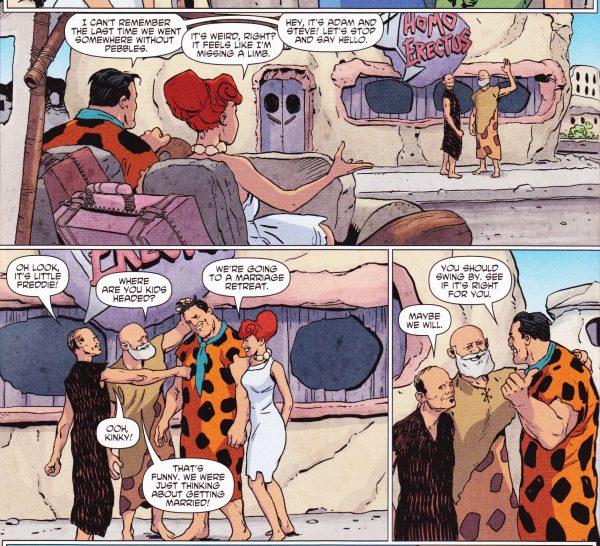 gay sex Flintstones