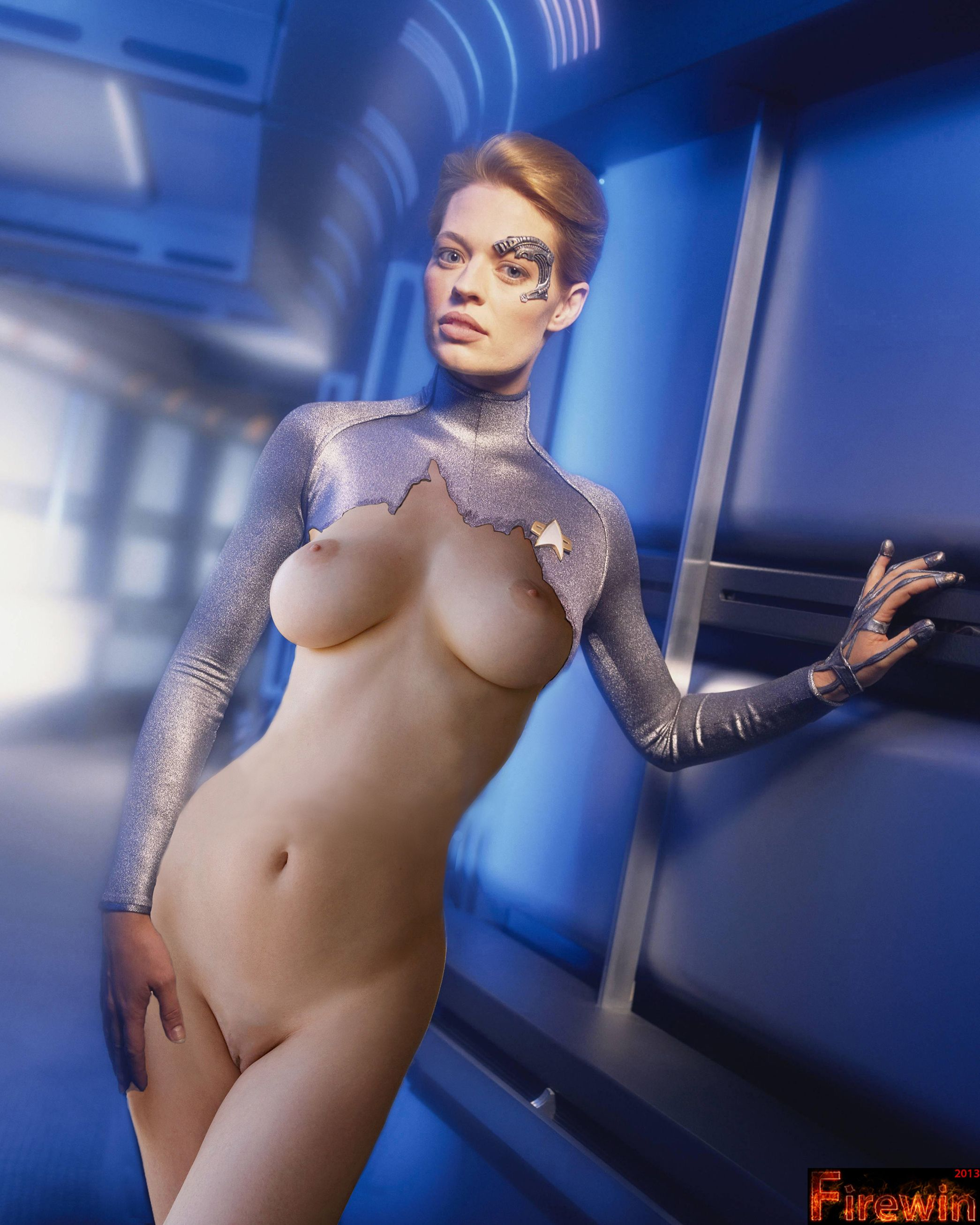 Amusing Star trek seven of nine porno that interfere