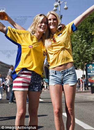Tall swedish women