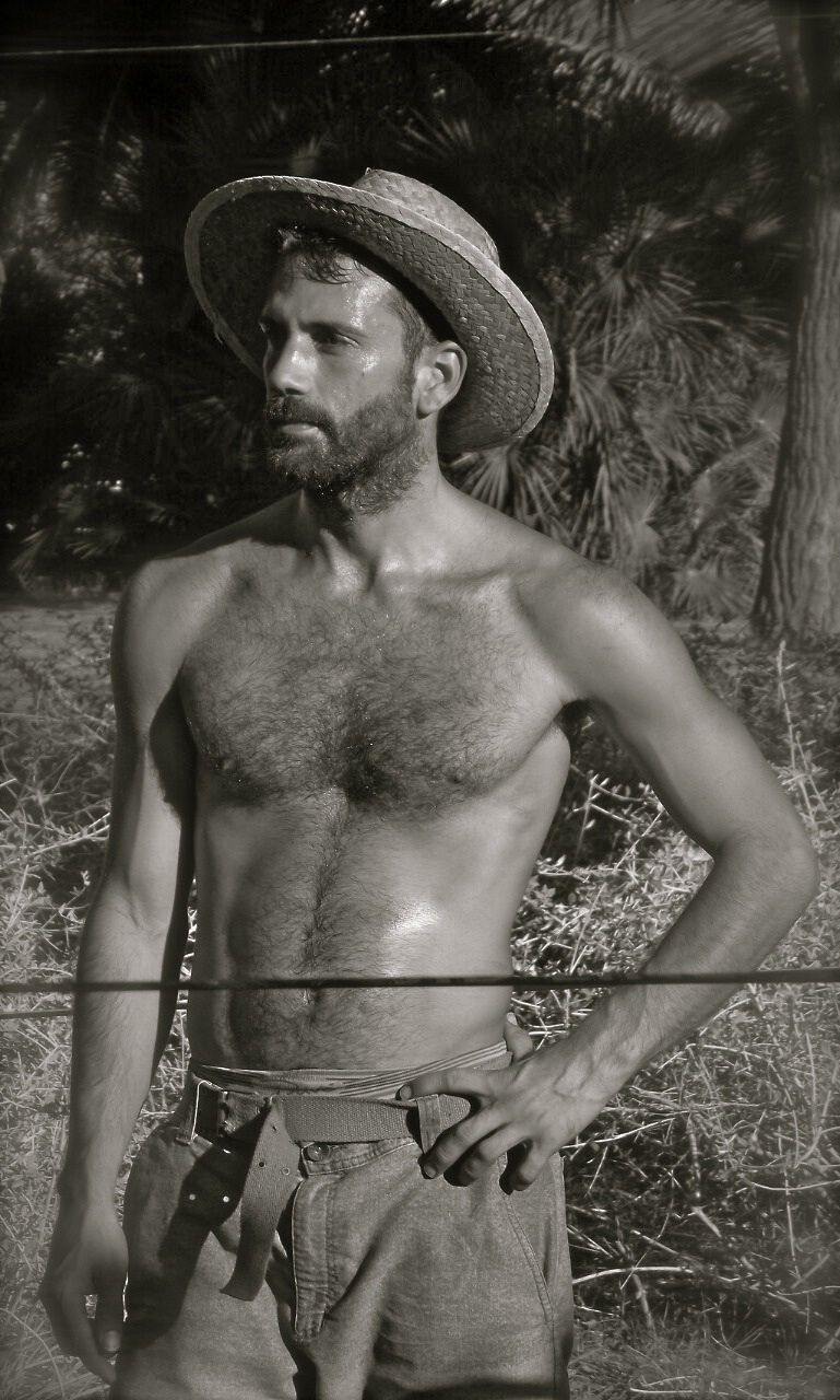 hairy men hot Vintage