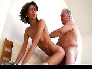 Old man fucking woman