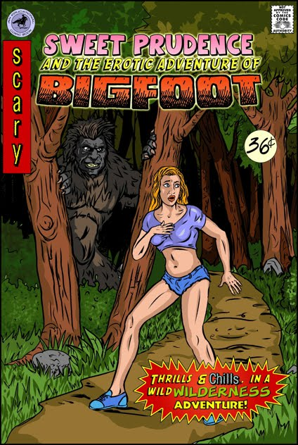 Bigfoot porn comics