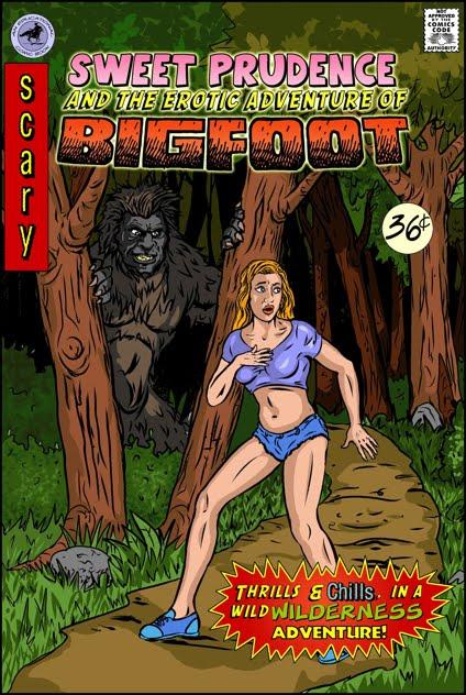 Bigfoot porn comics