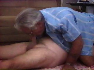 Free gay porn old men