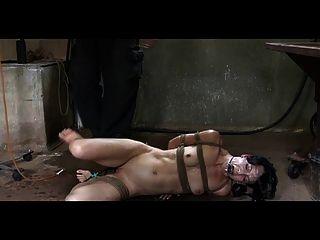 Enema slave girl training
