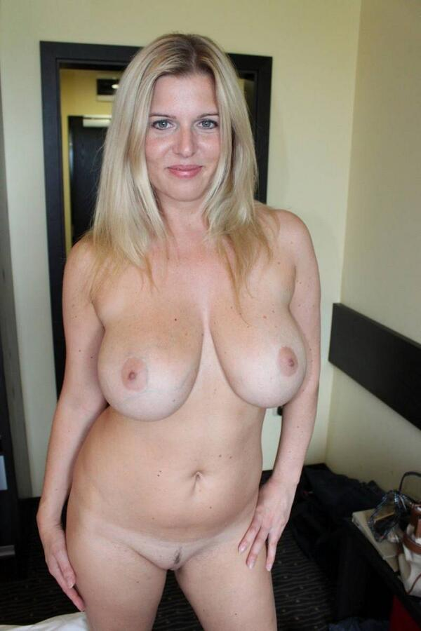 amateur mature big My wife boobs