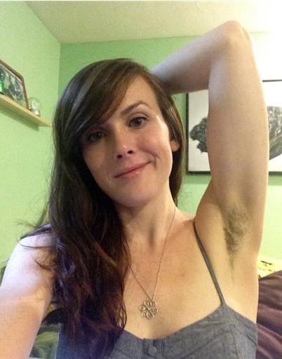 Hairy armpit women