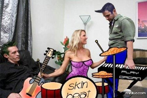 Porn music instrument