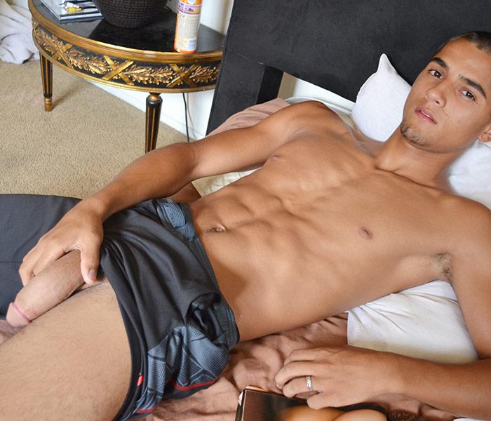 Big gay latino men porn