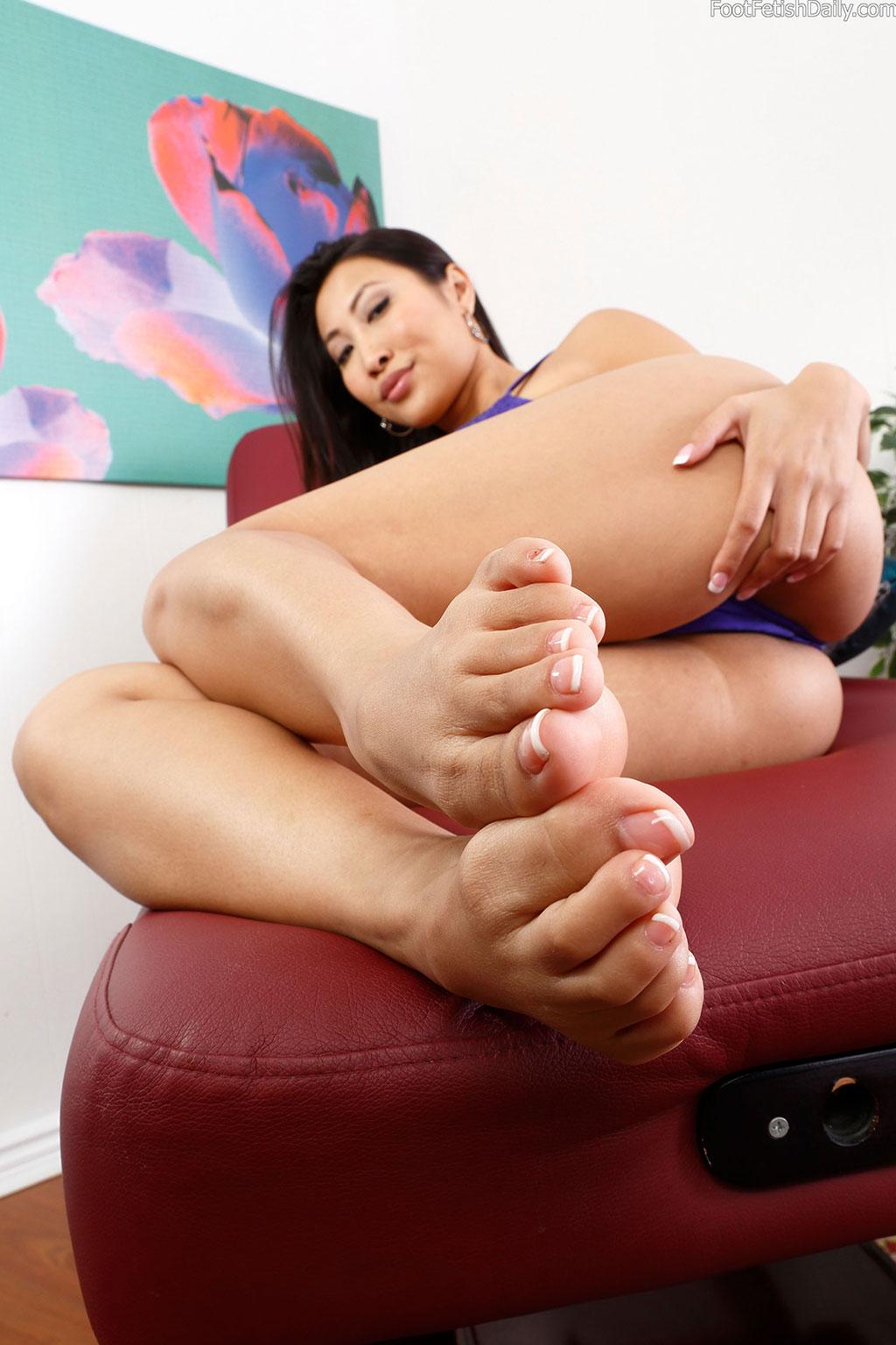 feet Asian sharon lee