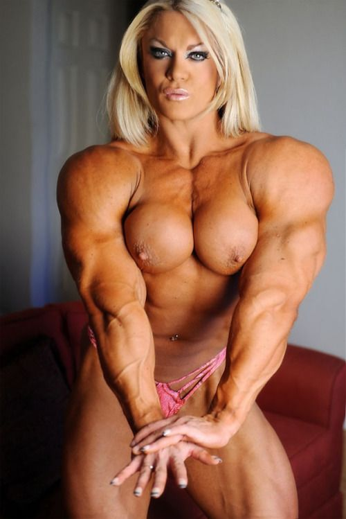 Women nude muscle