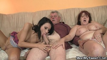 Angelika fucks grandpa