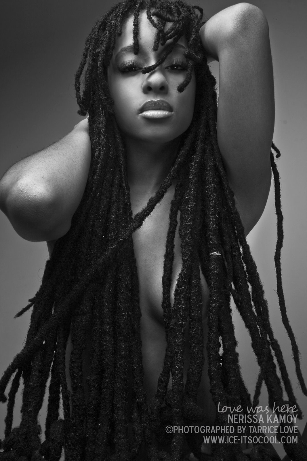 Sexy naked black girls with dreads