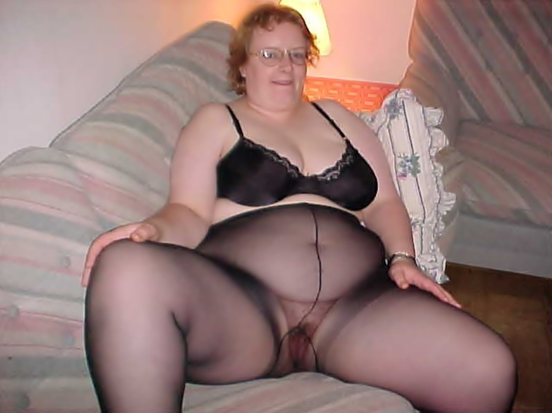 pantyhose women Bbw mature in