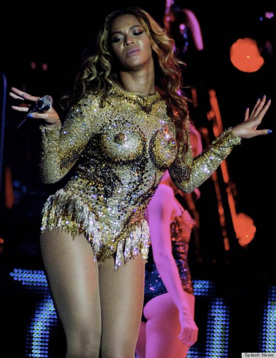 Beyonce knowles see through nipples