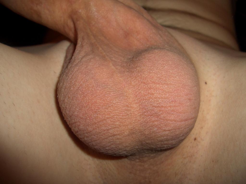 Perfect cock and balls close up