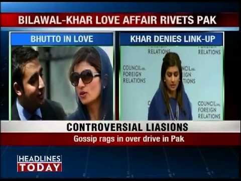 Bilawal bhutto and hina rabbani khar scandal