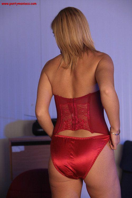 Girl in tight panties fetish