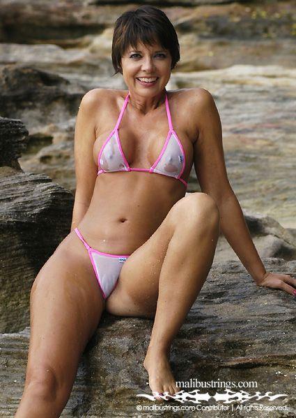 My lovely wife tanja milf bikini panties