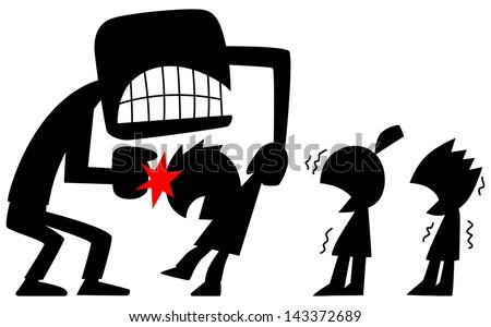 Grunge corporal punishment